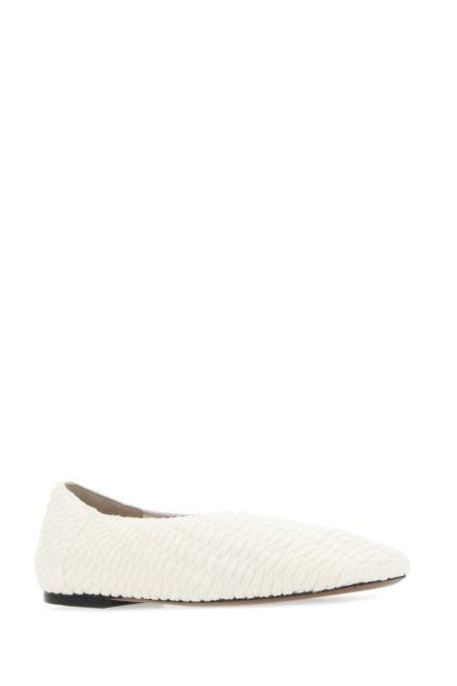 Ivory fabric Phinia ballerinas