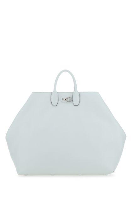 Ice nappa leather Studio handbag