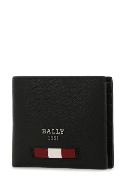 Black leather Bevye wallet