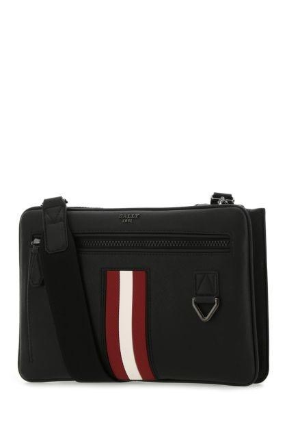 Black leather Milvar crossbody bag
