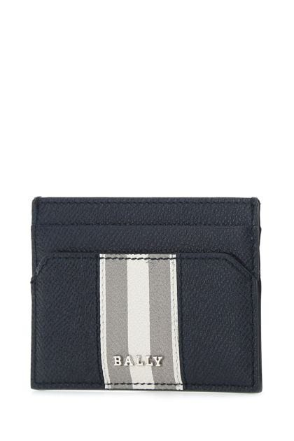 Two-tone leather Bhar card holder
