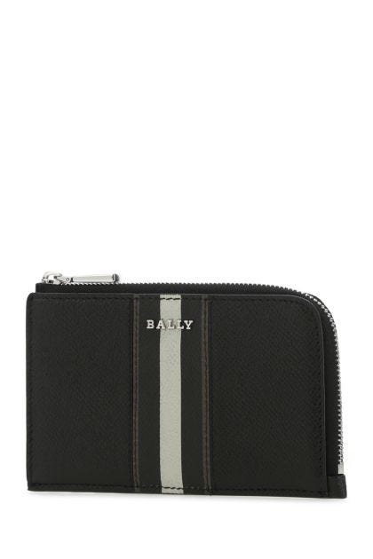 Two-tone leather Bord card holder