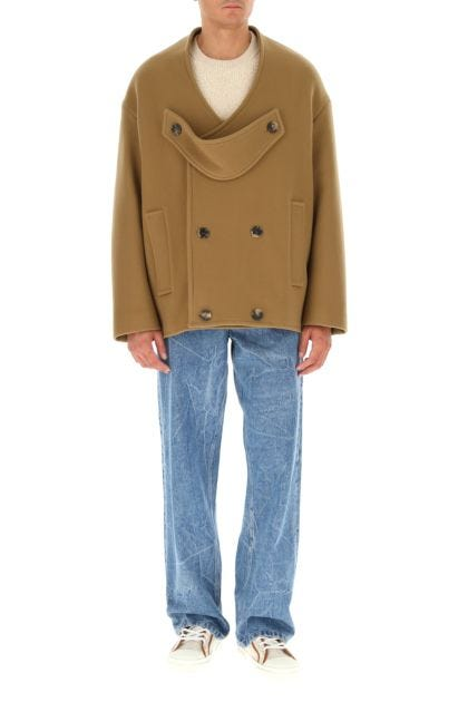 Cappuccino wool blend coat