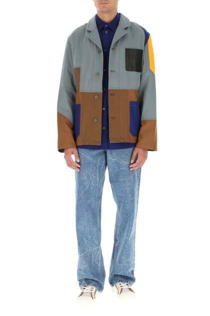Multicolor cotton jacket