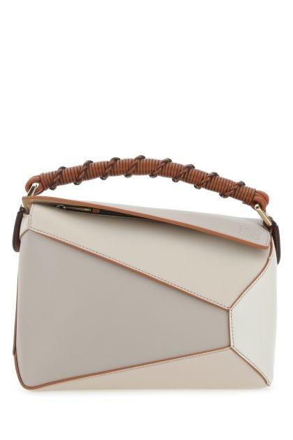 Multicolor leather small Puzzle Edge handbag