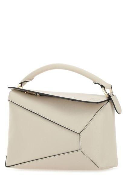 Sand leather small Puzzle handbag