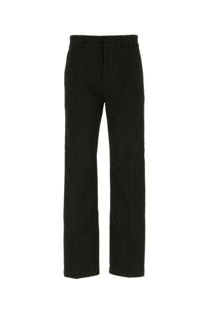Black gabardine pant