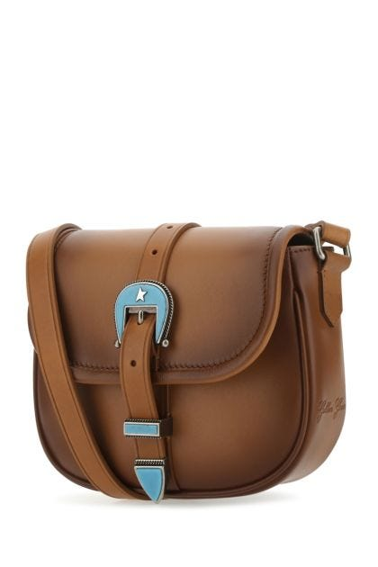 Brown leather small Rodeo crossbody bag