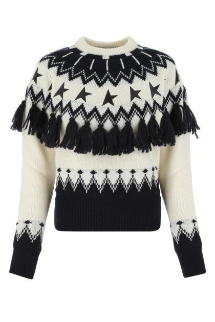 Multicolor alpaca blend Deidra sweater
