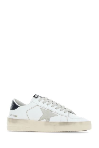 White leather Stardom sneakers