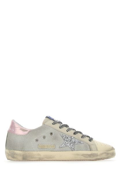 Multicolor fabric and leather Super Star Classic sneakers
