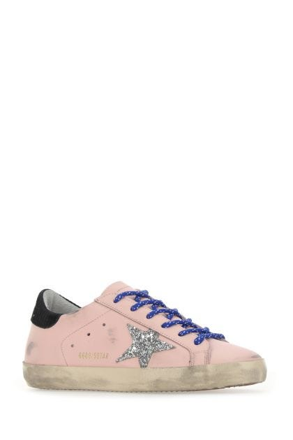 Pink leather Super Star Classic sneakers