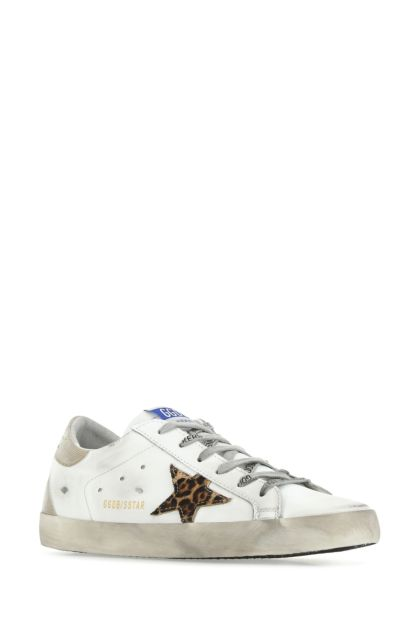 Multicolor leather Superstar sneakers