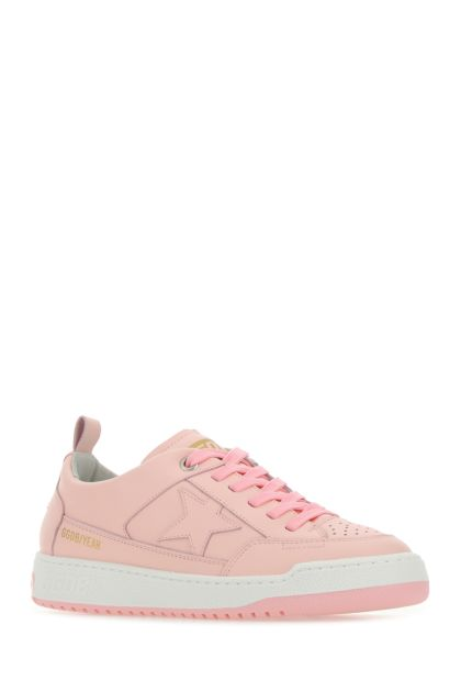 Pink leather Yeah sneakers
