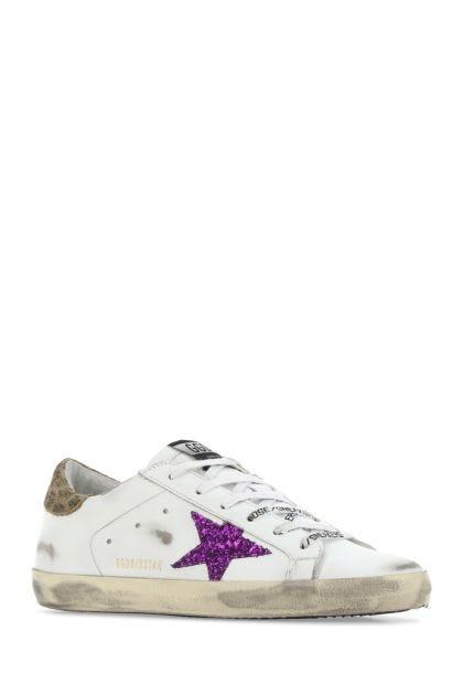 Multicolor leather Super Star Classic sneakers