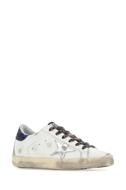 White leather Super Star Classic sneakers