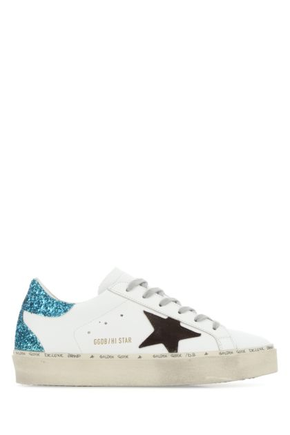 White leather Hi Star Classic sneakers