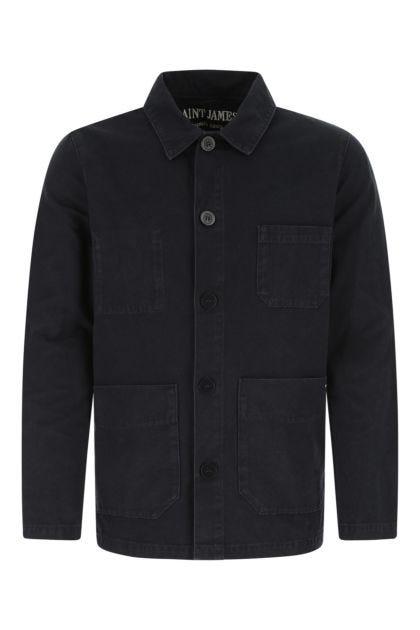 Navy blue cotton Sirocco II jacket