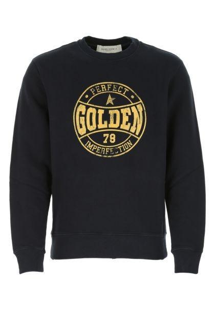 Navy blue cotton Archibald sweatshirt
