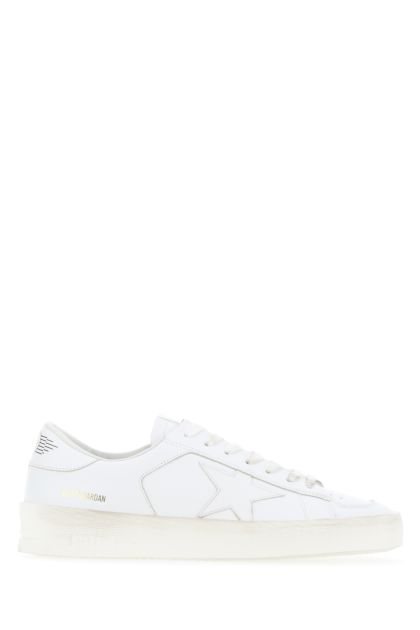 White leather Stardan sneakers
