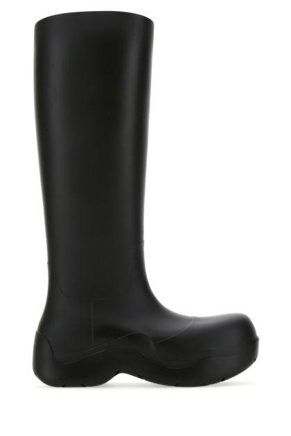 Black rubber Puddle boots