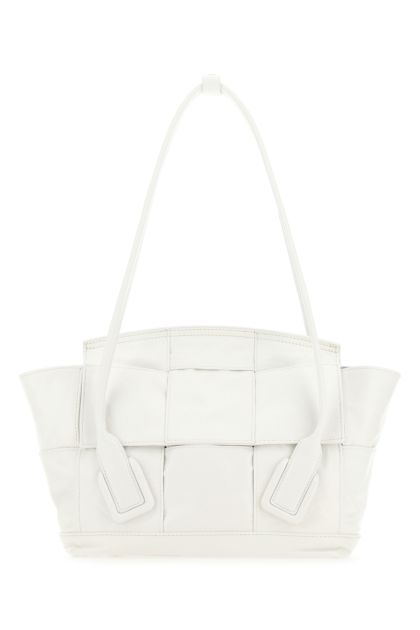 White leather small Arco shoulder bag