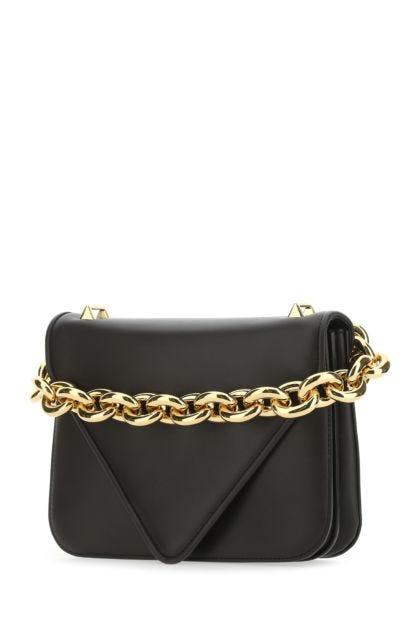 Dark brown leather Mount handbag