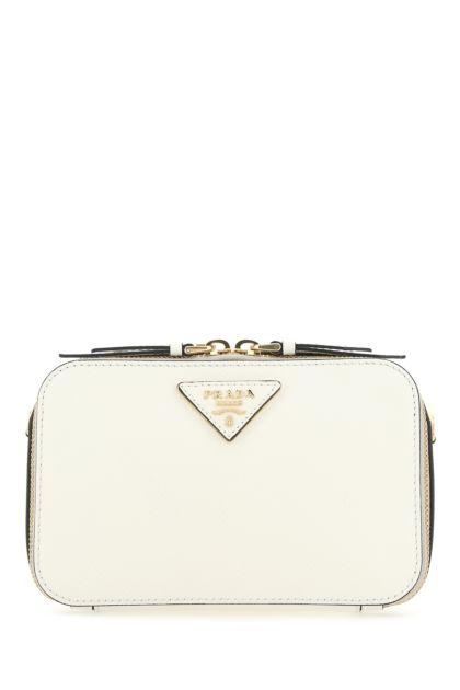 White leather Odette belt bag
