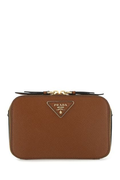 Brown leather Odette belt bag