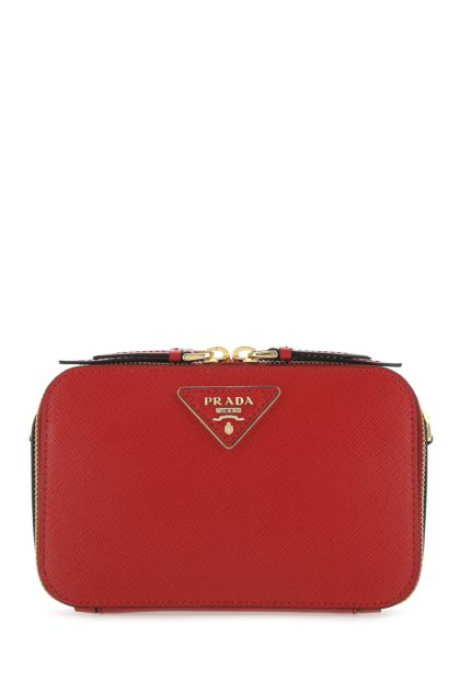 Tiziano red leather crossbody bag