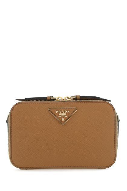 Biscuit leather Odette belt bag