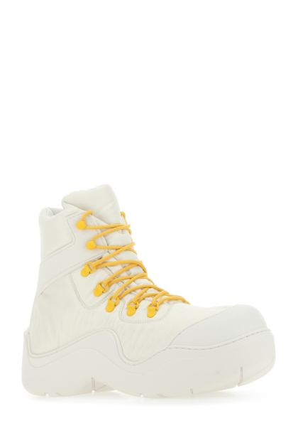 Sand nylon and rubber Puddle Bomber ankle boots