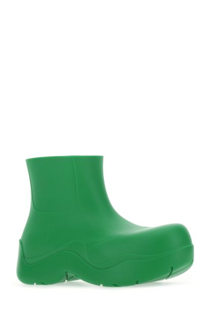 Grass green rubber Puddle ankle boots