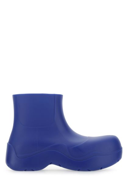 Electric blue rubber Puddle ankle boots