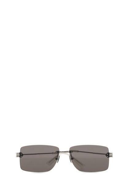 Silver metal sunglasses