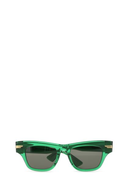 Green acetate sunglasses