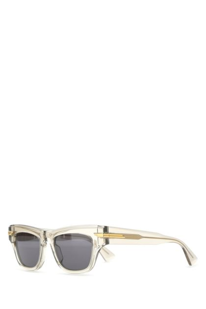 Semi transparent acetate sunglasses
