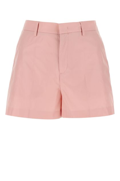 Pink taffeta shorts
