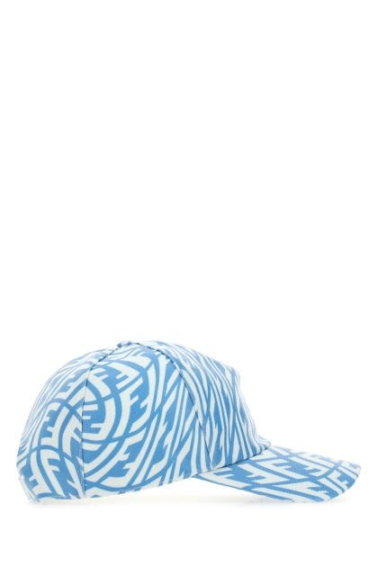 Embroidered cotton hat