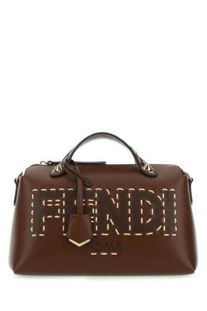 Brown leather medium By The Way handbag