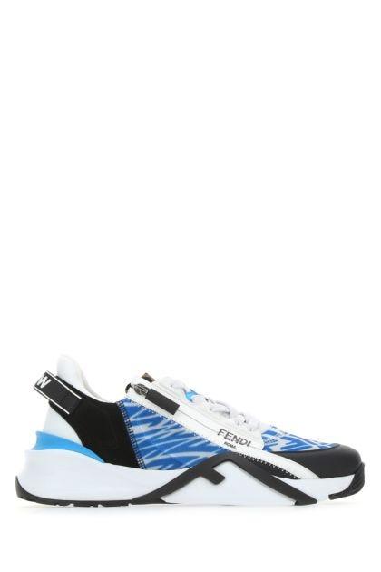 Multicolor nylon sneakers