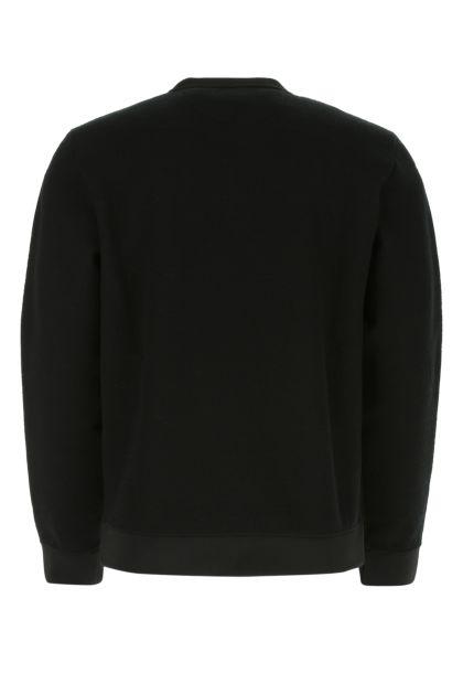 Black neoprene sweatshirt