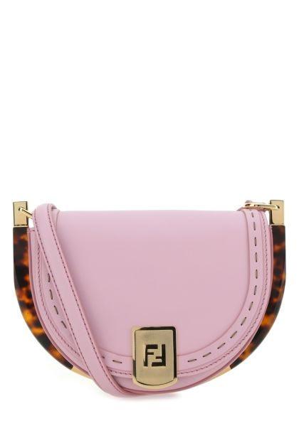 Lilac leather Moonlight crossbody bag