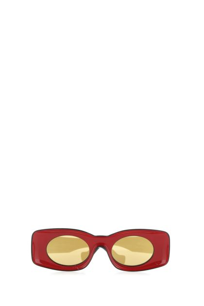 Red acetate Paula's Ibiza sunglasses