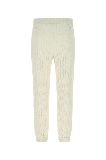 Ivory wool pant