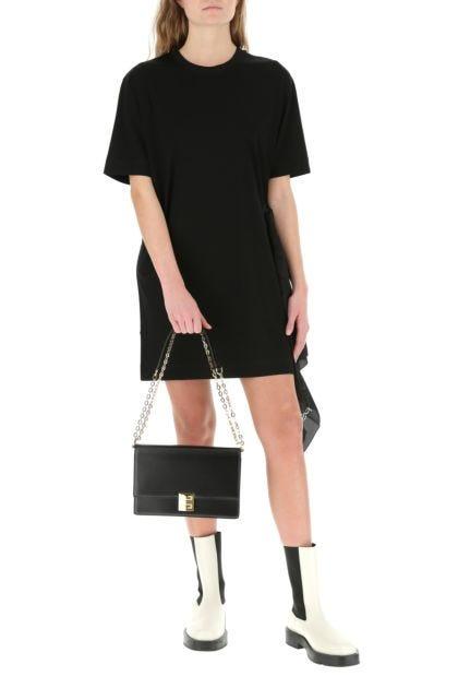 Black leather medium 4G shoulder bag