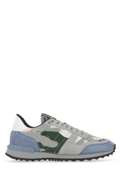 Multicolor Rockrunner Camouflage sneakers