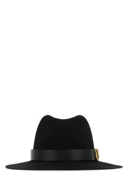 Black lapin VLogo Signature hat