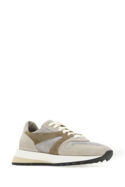 Multicolor suede and mesh Vintage Runner sneakers