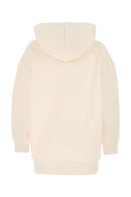 Sand cotton oversize sweatshirt